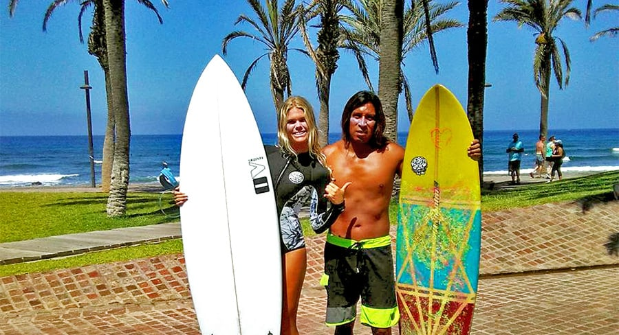 Obozy surfingowe na Teneryfie - nauczyciele
