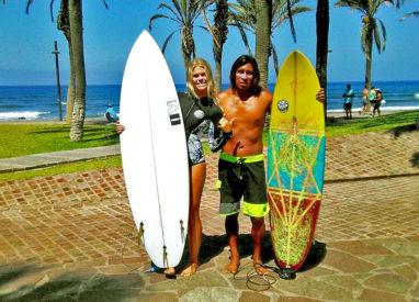 kurs surfingu na Teneryfie - sprzęt i nauczyciele
