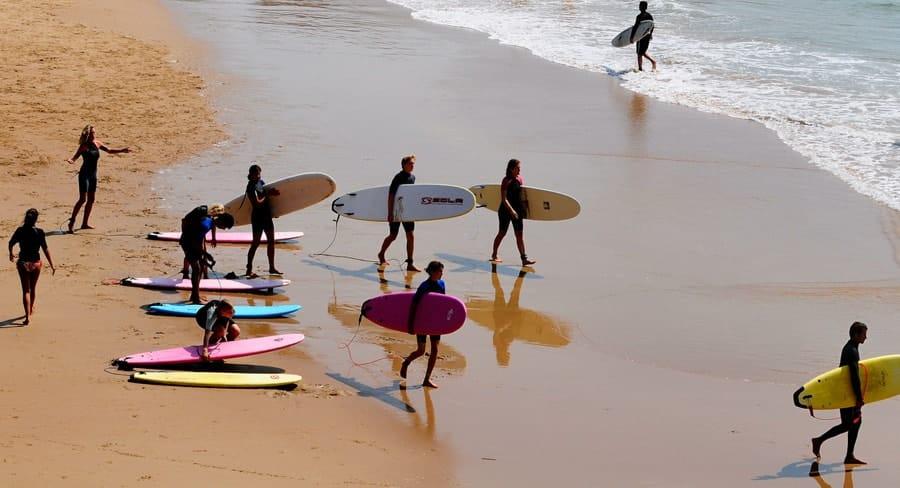 obóz surfingowy na teneryfie - zajęcia
