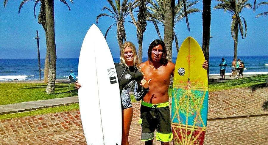 surf camp teneryfa obozy nauczyciele surfingu