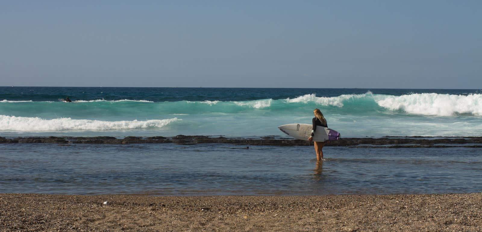 Kurs surfingu na Teneryfie